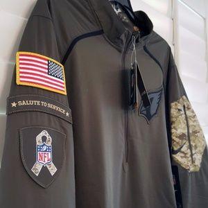 e7918680 NFL Arizona Cardinals Salute to Service Hybrid NWT